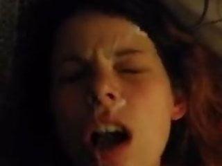 Teen Big Cock Brunette video: Quick facial