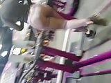 Yoga Ass on Treadmill Giggles