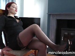 Bdsm Strapon Femdom video: Dominated By Goddess Sophia - Strict British Mistress