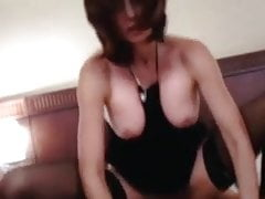 Dirty talking mature getting pounded