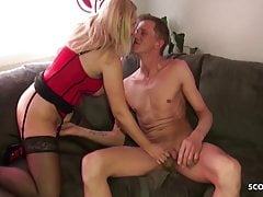 German Cougar Stepsister Jenny Help Brutha With Fucky-fucky By Lovesickness