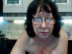 Webcam mamie lunettes webcam