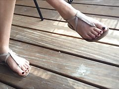 Elise's Candid Feet Part 1