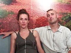 Casting Amateur Paar Sodomie Fisting und Gesichtsbehandlung zu programmieren
