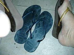 Curtindo As Havaianas Da Sogra