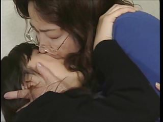 Oldyoung Asian Japanese video: Old Lesbian Teacher Preys on her Students