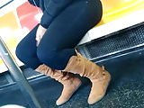 Thick hood thot phat legs&ass