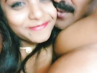 Teen Big Tits Kissing video: indian young and old couple enjoy