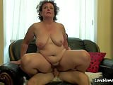 Fat old muff is still quite horny.mp4