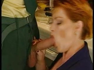 GERMAN MATURE BBW KIRA RED FUCKED BY BIG WHITE COCK