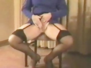 Stockings Homemade video: British wife fingers in stockings and garter belt 2