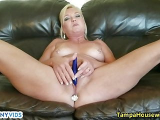 Milfs Sex Toys Pov video: Mommy Show Young tyler Her Toys