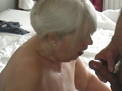 Granny's Xmas Eve Blowjob