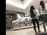 Long Legged Mall Teen Tights (short clip)