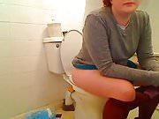 Shame Girl on Toilet