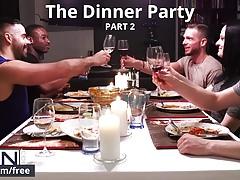 Men.com - Matthew Parker e Teddy Torres - The Dinner Party