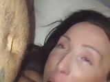 Onehead gets sucked-Homemade Amateur Video
