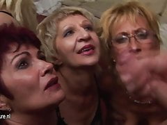 A special and kinky mature group sex party