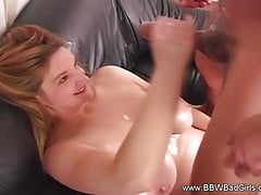 BBW Schwester Jacking Off Brother
