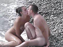Vignette su una spiaggia nuda 15