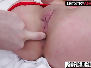 Cumshots Anal Amateur video: Ashley Adams - Busty Teen Tries Anal - Lets Try Anal