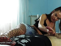 Nataly Gold - Happy Foot Party Handjob