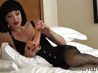 Suck his cock like the sissy slut you really are