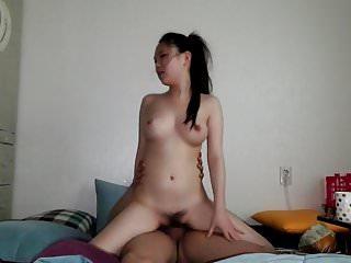 韓國情侶業餘視頻