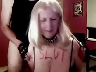 Matures Wife Slut video: sue palmer sex slut gilf used by master rich