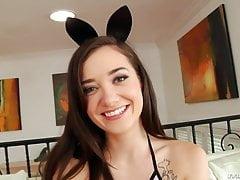 Cute Anal Bunny Gia Paige