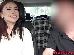 Teen Stepsis Sperma gespritzt