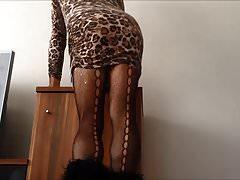 Espectáculo de Upskirt sexy hermana árabe