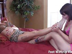 Voglio solo una rilassante sessione di adorazione dei piedi