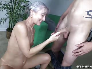 Matures Milfs Handjobs video: Milfs Sex Drive Young Guys Would Love