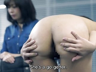 Japanese Softcore Teen video: JAV casting mother watches daughter strip for audition