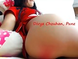 Desi Indian slut Divya's sexy ass