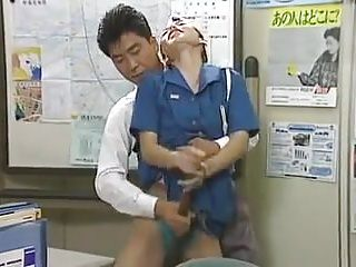 Japanese Softcore video: policewoman hot panty