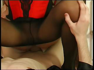 .Anal love in front of the mirror.