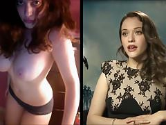 SekushiLover - Cat Dennings Talk vs Nude Selfies