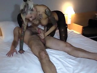 Gorgeous Blonde with Perfect Body Fucked by Mask