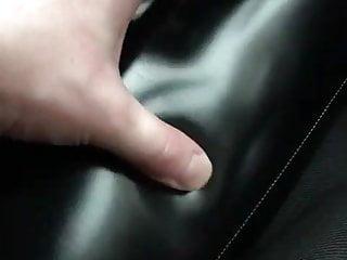 British Femdom Latex video: Squeeze the PVC