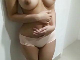 Nipples Asian Tits video: Indian cute girlfriend topless