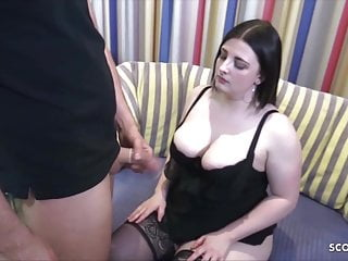 Hardcore Bbw Stockings video: German 18yr young bbw College Teen Elisa at Porn Casting