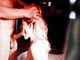 Hot blonde sucking my cock