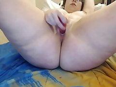Skype z BBW College Girl - Prześlij ponownie z dźwiękiem
