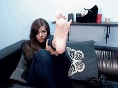 Audrey Orchid mostra i piedi su LJ