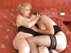 Czech cougars & matures anal, DP BBCs