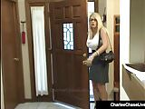 Milf Charlee Chase Watches Maid Cheyenne Jewel Bang Hubby!