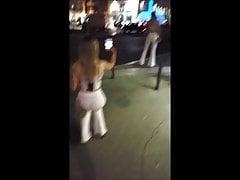 Ass Season - #97 white pants girls outside thong showing