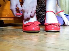 Les pieds hummm